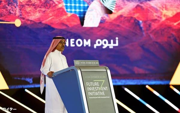 NEOM構想はサウジで開かれた今年の国際投資会議でも発表された=ロイター