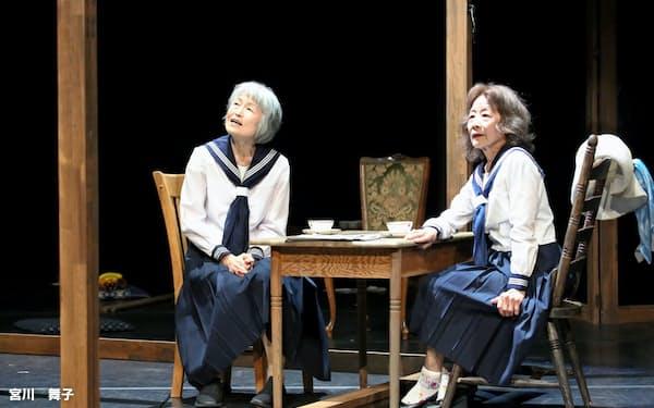 岩井秀人構成・演出「ワレワレのモロモロ」はさいたまゴールドシアターの高齢俳優から詩情をを引き出した(撮影 宮川 舞子)