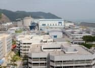 仏との技術協力で1994年に中国で初めて稼働した大亜湾原発(広東省深圳市)