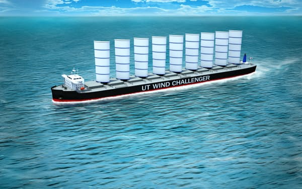 商船三井が2020年以降の就航を目指すウィンドチャレンジャー