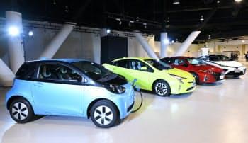 企業も温暖化ガスの排出削減に動く(トヨタの新エネルギー車)
