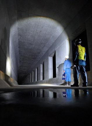 大阪メトロ中央線が延伸予定の夢咲トンネル(大阪市住之江区)