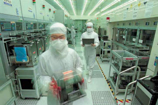 TSMCは今後の需要減速を警戒しコスト削減を徹底する(同社提供)