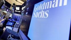 ゴールドマン株は17日、一時前週末比3%安まで売り込まれた=AP