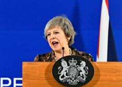 メイ首相はEUと協議を進めている=ロイター