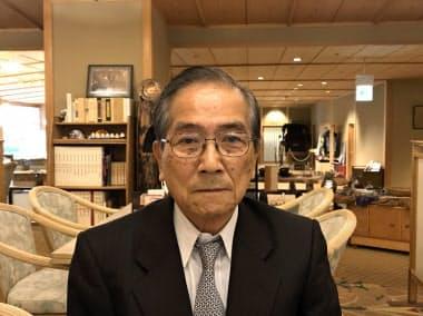 おくむら・たけひさ 1938年、愛媛県大洲市生まれ。61年中央大学法学部卒。64年に大和屋本店旅館に入社。常務、社長を経て96年に会長就任。愛媛県観光協会会長などを歴任し、道後の街並み整備などに取り組んだ。公益社団法人愛媛能楽協会会長。