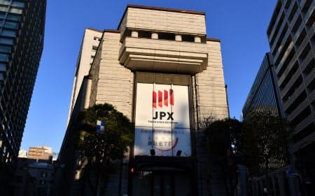平成最後の大型上場となるソフトバンクの上場セレモニーが行われる東京証券取引所(19日午前7時24分)