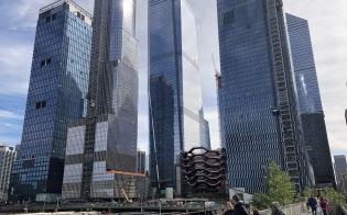 「ハドソンヤード」の再開発では高層ビル4棟が竣工する(ニューヨーク市)