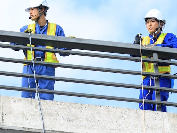 ドローンを使い点検を効率化する(岐阜県各務原市)