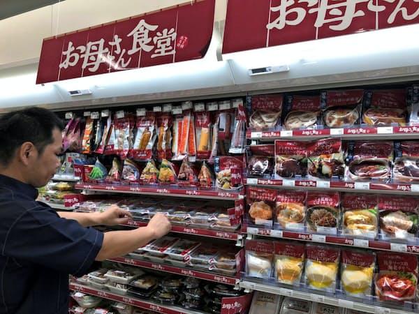 ユニファミマは総菜販売を強化している(都内のファミリーマート店舗)