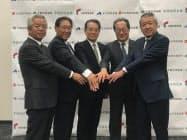 5信金が連携し、取引先を支援する