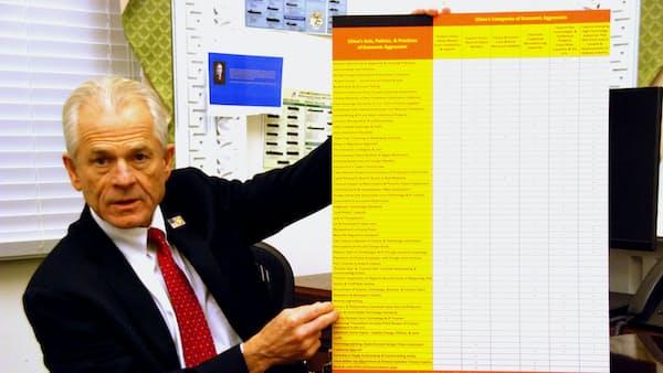 米中協議「合意は険しい」 ナバロ米大統領補佐官