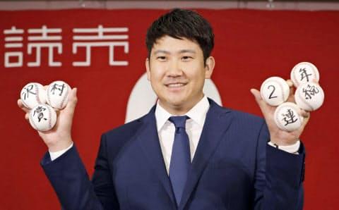 菅野は厳しい沢村賞の選考基準をすべてクリアした=共同