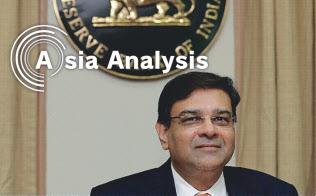 突如辞任したインド準備銀のパテル前総裁は、短い声明で理由を?#31478;€人的な事情?#24037;趣筏郡?ロイター