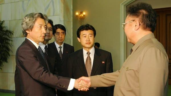拉致の「8人死亡」に衝撃 小泉首相訪朝(平成14年)