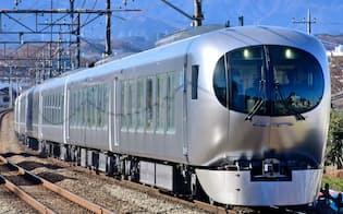 新型特急「Laview」は19年3月の運行開始を予定する