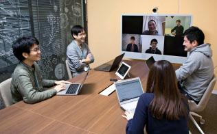 副業など多様な働き方を認め、チームワークを高める(東京都中央区のサイボウズのオフィス)