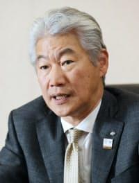 野村ホールディングスの永井浩二グループ最高経営責任者(CEO)