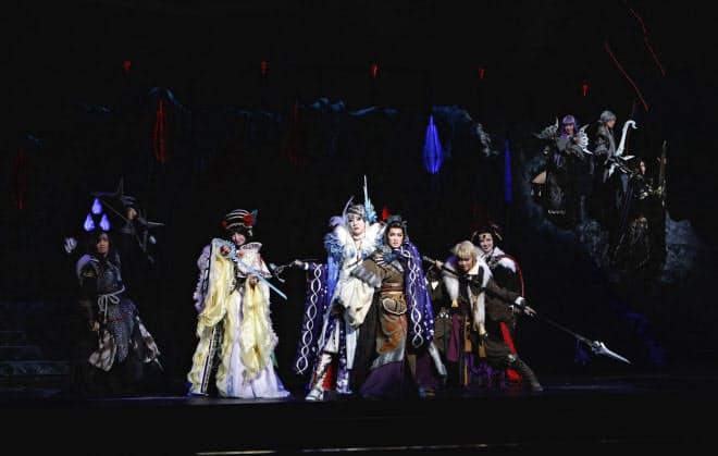 宝塚歌劇団はこれまでより規模を拡大して3回目の台湾公演を行った(C)宝塚歌劇団