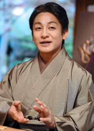 「今年もいろいろなことに挑戦し、歌舞伎を見たことのない人に興味をもってもらいたい」と話す