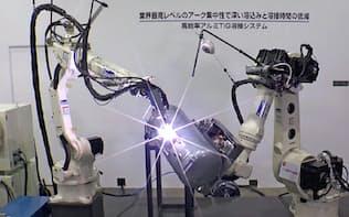 ダイヘンはアーク溶接ロボットで世界シェアトップ