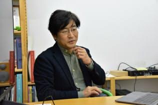 暦本純一・東京大学教授