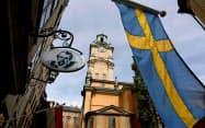 極右政党の台頭でスウェーデンの政治が揺らいでいる(写真はロイター)