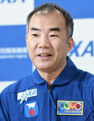 宇宙飛行士の野口聡一さん