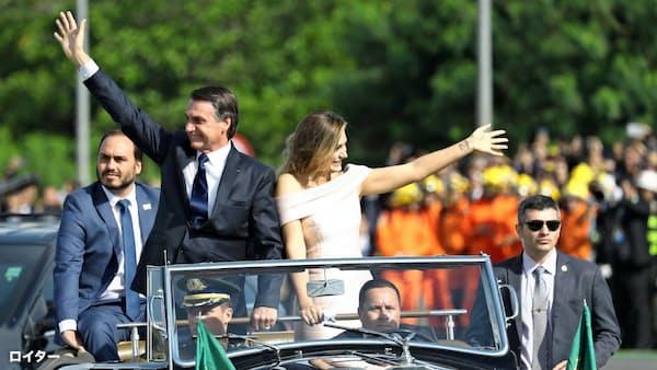 ブラジル、右派ボルソナロ大統領就任 親米路線鮮明に