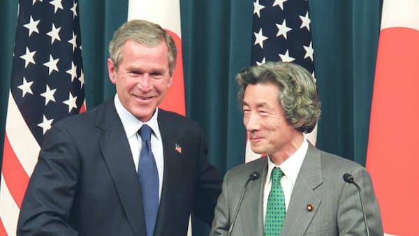 「日米同盟、行動で示す」イラク自衛隊派遣(平成16年)