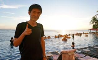 オリックスの今関賢治さんは平日6日間の休暇を取得してハワイに旅行