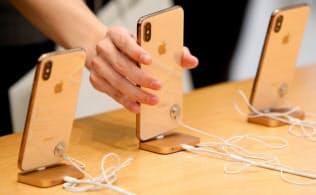 アップルのiPhone=ロイター
