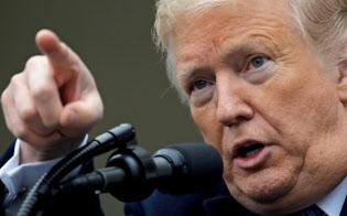 トランプ大統領は「米国第一」の手綱を締めて支持基盤を鼓舞する=ロイター