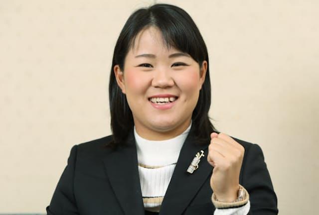 プロゴルファーの畑岡奈紗選手