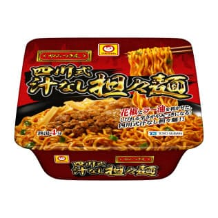 東洋水産が発売する「マルちゃん やみつき屋 四川式 汁なし担々麺」
