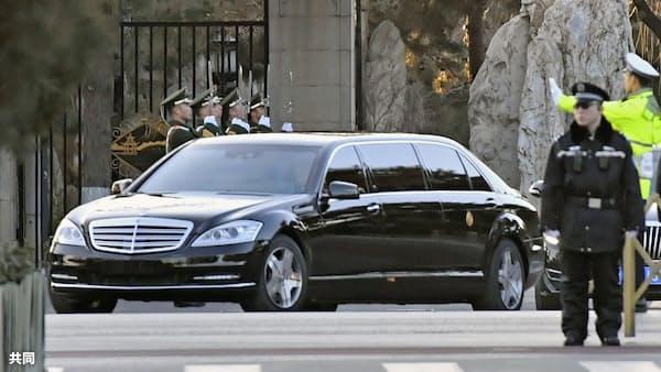 米朝会談へ方針協議 正恩氏訪中、習主席と会談