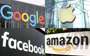 国税当局はグーグル、アップル、フェイスブック、アマゾンへの締め付けを強化している