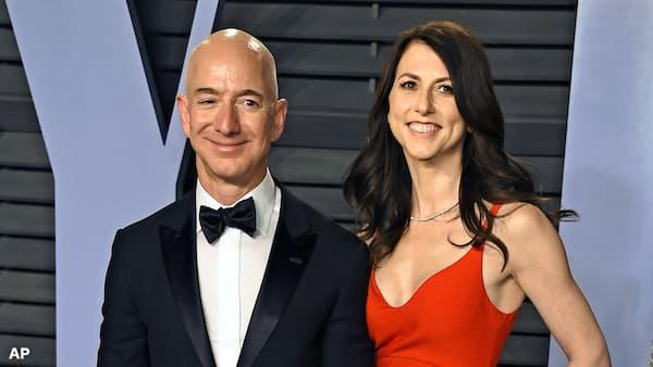 米アマゾン創業者、ベゾスCEOが離婚