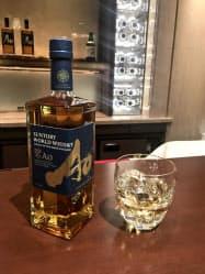 スコットランド、アイルランド、米国、カナダ、日本の5大産地の原酒をブレンドした