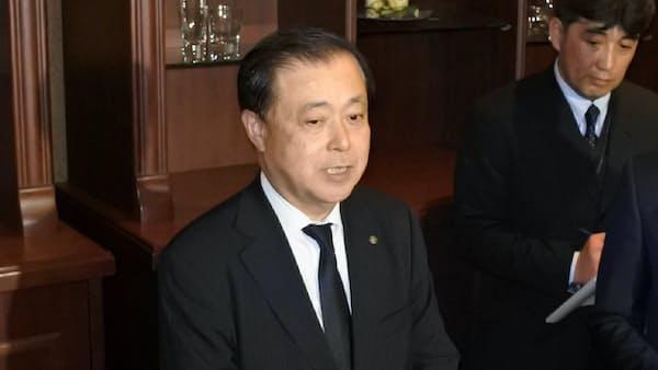 原電社長「拒否権発言」を謝罪 東海第2の地元協定巡り