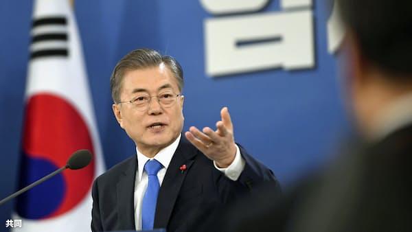 韓国文政権、経済運営なお強気