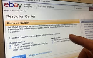 米イーベイでは、利用者間の取引トラブルを解決するための専用のODRサイトを整備している