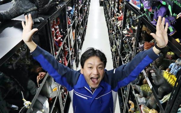 万協製薬社長の松浦信男さん(56)