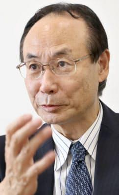のろ・てるひさ 1954年三重県生まれ。77年名大経卒、松下電器産業(現パナソニック)入社。広報部長などを歴任。2012年スタジアム建設本部長としてガンバ大阪へ。13年社長就任。16年の退任後は大阪国際大の客員教授などを務める。