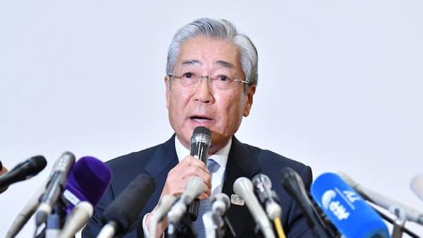 JOC竹田会長「潔白証明に全力」汚職疑惑改めて否定