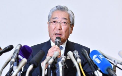 JOCの竹田会長は15日、記者会見し、2020年東京五輪・パラリンピック招致活動の疑惑について改めて否定した