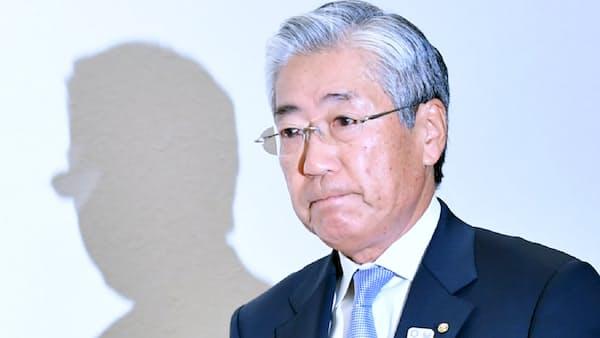 [社説]遅すぎた竹田会長の退任表明