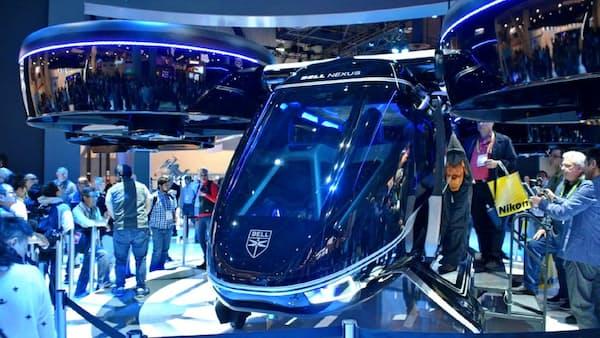 大型からバイク、多様な「空飛ぶ車」に淘汰の予感