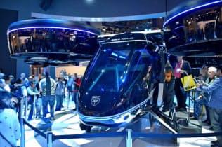 ベル・ヘリコプター・テキストロンは大型の機体「ベルネクサス」をCESに出展した