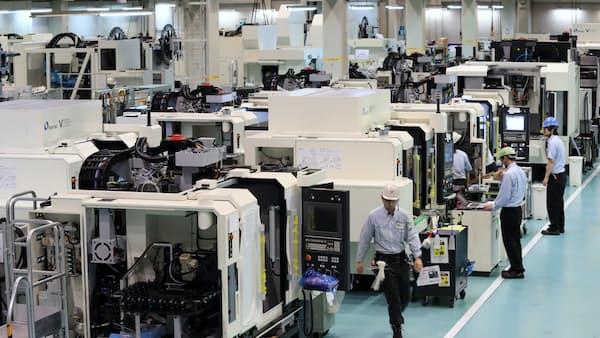 18年の工作機械受注は10%増、2年連続で過去最高に